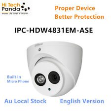 Dahua IPC-HDW4831EMP-ASE 8MP IR Eyeball Network Camera CCTV system Au local