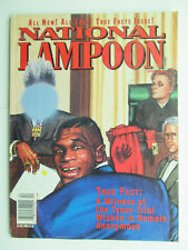 National Lampoon April 1992 True Facts issue comics humor satire funny vtg 1990s