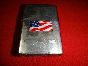 Year 1959 Zippo Lighter USA Flag, US AVIATOR, REPUBLICA PORTUGUESA 1930 Coin