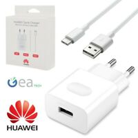 HUAWEI CaricaBatterie QUICK CHARGE Originale + Cavo Type-C Fast Per P20 P30 PRO
