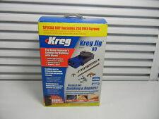 Kreg R3 Pocket Hole Jig System NEW