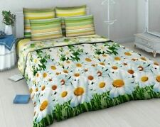 Bed linen with flowers Twin size