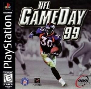 NFL GameDay 99 - Authentic Sony PlayStation 1 Game