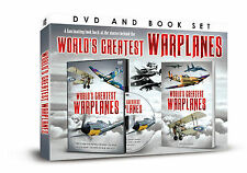A FASCINATING LOOK BACK AT THE STORIES WORLD'S GREATEST WAR PLANES DVD & BOOK