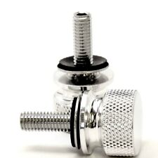 Triumph Bonneville Side Cover Screws Chrome Plated by Speed Dealer Customs