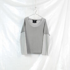 DIRAIN Japan gray layered mesh longsleeve tshirt top XS S attachment julius