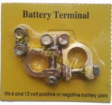 Jeu de 2 Cosses Pour Batterie De Voiture + et - Suite Oxydation Pas Cher