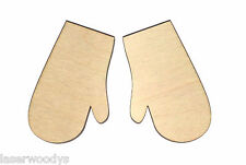 Oven Mitts Unfinished Wood Shape Cut Out OM4667 Crafts Lindahl Woodcrafts