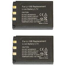 Per Olympus li-12b c-60 c-70 mju 300 500 600 2 batterie