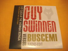 Cardsleeve Single CD GUY SWINNEN VS BUSCEMI 3 O'clock At The Wonga Bonga 1TR '09