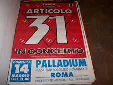 ARTICOLO 31-MANIFESTO TOUR      70 x 110