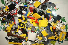 Lego 3+ Pound Bulk Lot Pieces w/Bricks, Slopes, Plates, 4 Minifigs