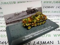 PZ24T Tank militaire 1/72 PANZER n°24 leichter SdKfz 250/9 Pz div FHH Czech 1945