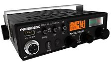 CB RADIO PRESIDENT TAYLOR IV ASC BRAND NEW 40 channels AM/FM USB 5V 2.1A 12/24V