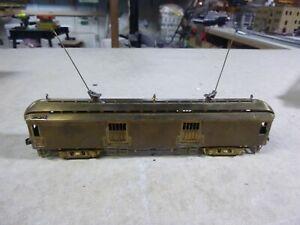 HO BRASS ENGINE- SUYDAM   57' NILES MOTOR BOX CAR