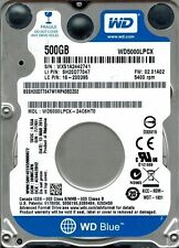WESTERN DIGITAL HARD DISK INTERNO 2,5 500GB SATA WD5000LPCX, BLUE