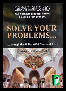 Solve your problems with 99 Names of Allah / Book in English ( Pocket Size )