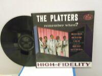 "The Platters,Mercury MG 20410,""Remember When?"",US,LP,mono,black deep groove,M-"