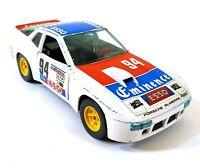 Bburago 9105 Porsche 924 Turbo 1/24 Italie Vintage Jouet Voiture Miniature M821