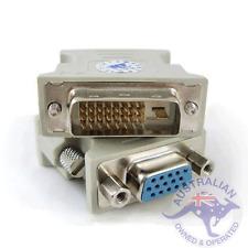 1 x DVI-D Male To VGA Female Socket Converter (001)