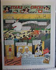 1937 Camel Cigarettes Stars of the Circus print ad Concello, Zacchinis, Herbert