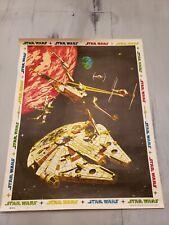 Vintage 1977 Star Wars 20th Century Fox - Harley Copic Diy Posters (18301 A/B)