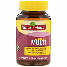 Nature Made Multi for Her With Iron  Calcium 90 Tablets Gluten-Free, No
