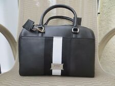 NWT GUESS Women's Kazuya Box Satchel Handbag Purse Crossbody Black/White