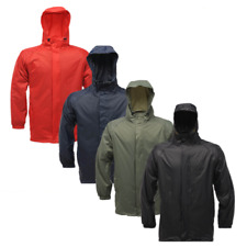 REGATTA MENS PACKAWAY II WATERPROOF BREATHABLE JACKET PACK IT ISOLITE MW248