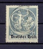 DR 134 II Bayern-Abschied 3 Mark gestempelt geprüft Weinbuch (ts170)