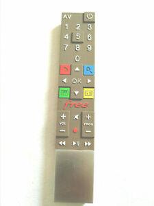 Télécommande Grise Freebox Révolution V6 Free ( EN  BON ETAT )