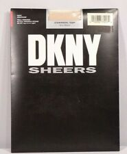 """DKNY Sheers Pantyhose """"Control Top Very Sheer"""" / """"Hint"""" Color / Size Tall / NWT"""