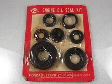 Honda CL125 CB125 CD125 Engine Oil Seal Kit 91205-200-000 / 91202-200-000 NOS JP