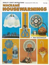 Tiffany Lampshade Pattern Macrame Housewarmings Craft Instructions Book PD1153