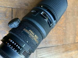 Nikon ED AF micro-Nikkor 200mm f4 D macro lens - Very rare - Excellent condition