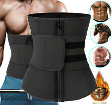 Men Abdomen Fat Burner Body Shaper Waist Trainer Sauna Sweat Belt Weight Loss US
