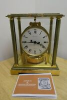 Jaeger-LeCoultre Atmos Clock, Vendome, Model 5834, Circa 1974, With Manual