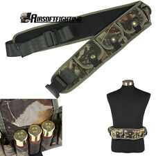 Shotgun Shell Belt Carrier Holder 25 Rounds Ammo Cartridge Pouch 12Gauge 20GA