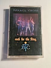 Barren Cross Rock For The King 1986 Cassette Tape Christian Music