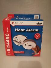 Aico EI144RC Mains Kitchen 9V Battery Heat Detector Alarm
