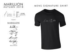 Marillion Signature T-Shirt 2018 - NEW - official Merchandise