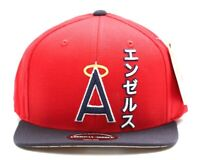 American Needle MLB California Anaheim Angels Tokyo Pop Snapback Cap Baseball