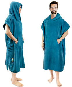 SUN CUBE Surf Poncho Changing Robe with Hood - Thick Quick Dry Microfiber NEW!