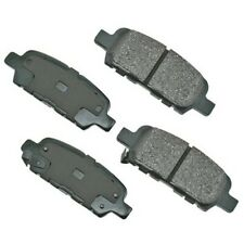 Rr Ceramic Brake Pads  Akebono  ACT905