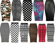 Unbranded Knee-Length Straight, Pencil Floral Skirts for Women