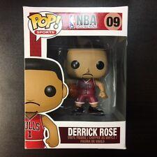 Authentische Funko POP NBA Derrick Rose Vinyl Figur 8/10 Box Zustand