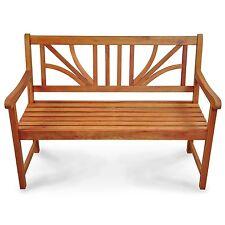 gartenb nke aus holz mit bis zu 2 sitzpl tzen g nstig kaufen ebay. Black Bedroom Furniture Sets. Home Design Ideas