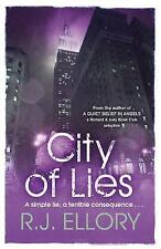 City of Lies, R.J. Ellory, Very Good condition, Book