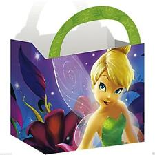 Disney Tinkerbell and Fairies Treat Favor Goodie Boxes 4 Ct Tinker Bell Birthday
