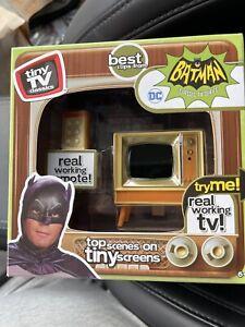Tiny TV Batman Classics Real Working TV with Top Scenes From the Classic Batman